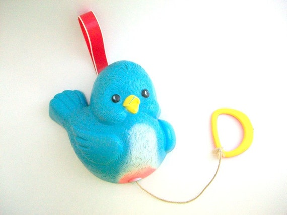 Fisher Price Crib Toys : Fisher price bluebird vintage crib toy