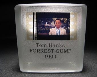 Tom Hanks - FORREST GUMP - Film Cell - Glass Votive