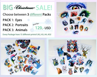 BIG christmas Sale!!! -Choose your favorite Package!-
