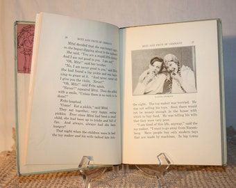 Mitz and Fritz of Germany by Madeline Brandeis, 1933, photos taken in Germany, pronunciation page