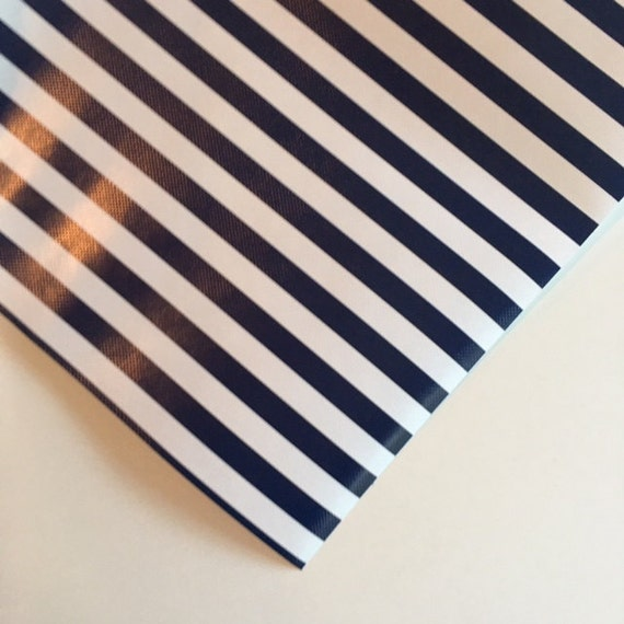 navy and white stripe wrapping paper 30 inches x 12 feet. Black Bedroom Furniture Sets. Home Design Ideas