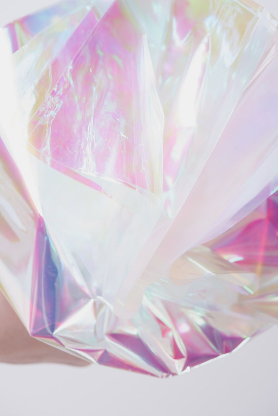 Iridescent Cello Sheets Pearlescent Cello Sheets Opal
