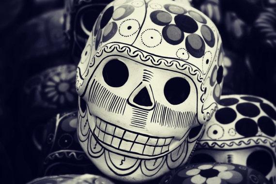 Sugar Skull Oaxaca Mexico Home Decor Wall Art Fine