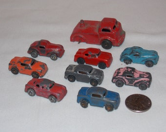 Lot of 8 Barclay Cars and 1 Truck