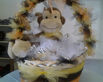Baby shower favor basket