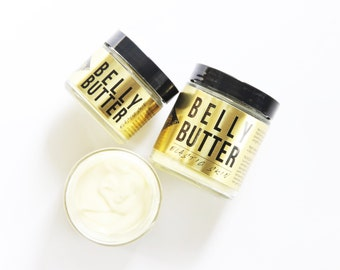 BELLY BUTTER // Aides Skin Elasticity // Pregnancy Belly // Stretch Marks