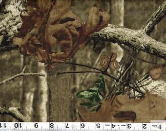 "60"" Mossy Oak New Breakup Infinity Camouflage Cotton Sheeting  BTY #930"