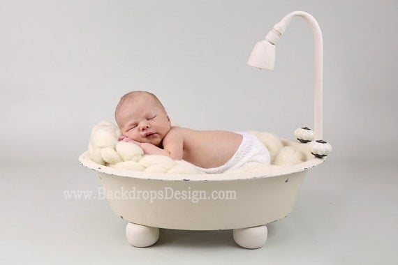 real not digital bathtub prop newborn. Black Bedroom Furniture Sets. Home Design Ideas
