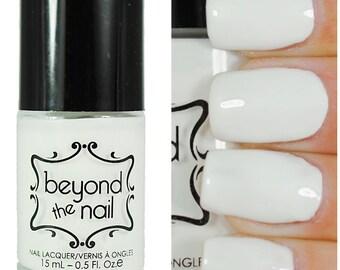 Bright White - Creme Nail Polish