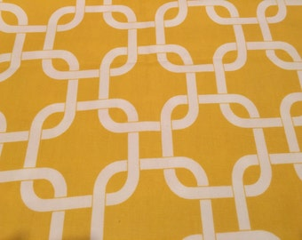 Premier Prints Yellow Gotcha by half yd