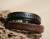 Reserved for barbosanathalia - leather bracelets with custom message