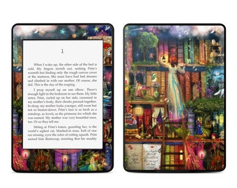 Amazon Kindle Skin - Treasure Hunt by Aimee Stewart - Sticker Decal - Fits Paperwhite, Fire, Voyage, Touch, Oasis