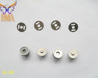 18.5MM Fashion Accessories Anti Silver Magnet