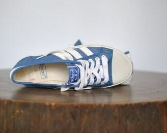 Vintage 1980s rare ADIDAS ADRIA Vintage Trainers , ...(078)