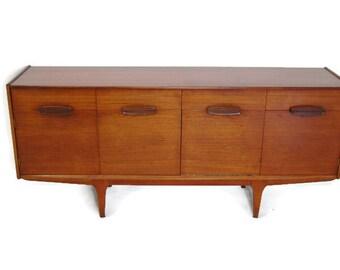 Mid Century Modern Teak Sideboard or Credenza by Jentique Furniture MCM S543