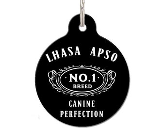 Lhasa Apso Dog ID Tag | FREE Personalization