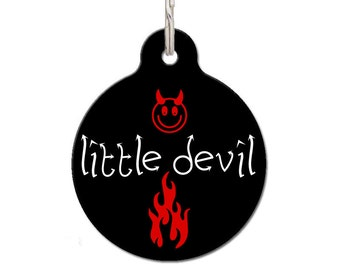 Little Devil Red Pet ID Tag | FREE Personalization