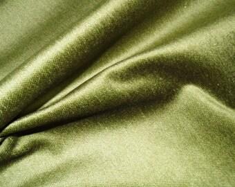 Fern Green Velvet Throw