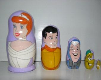 Cinderella nesting doll