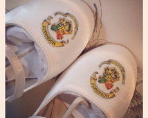 Handpainted Harry Potter themed shoes