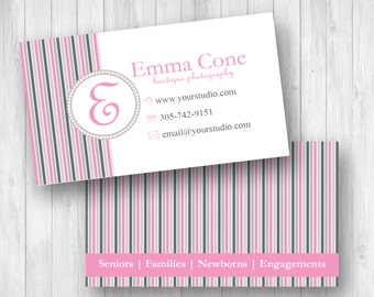 Business Cards -  Market Your Photography or Craft Business  - Instant Download