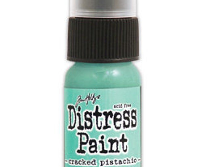 Tim Holtz Distress Paint Dabber - CRACKED PISTACHIO - January 2015