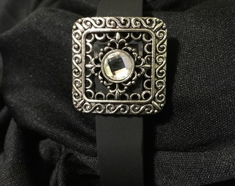 Rhinestone Medallion fitbit Flex or Charge Bling Bracelet Cover ** FREE SHIPPING within the U.S.**