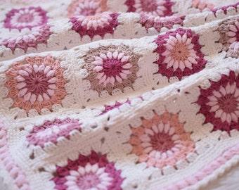 Crochet Blanket Pattern, Photo Prop, Aydan 1