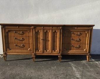 Dresser Vintage Empire Chic Regency Chest Drawers Glam French Provincial Mid Century Buffet Media Console Bedroom Storage CUSTOM PAINT AVAIL