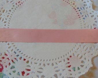 Vintage Pink Ribon One Yard