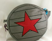 Winter Soldier Inspired Canteen Style Cross Body Bag