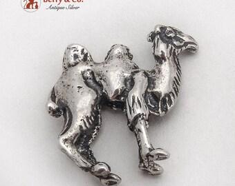 Vintage Miniature Camel Figurine Sterling Silver