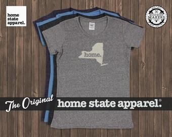 New York Home. T-shirt- Womens Cut