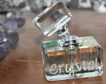 Elegant personalized perfume bottles