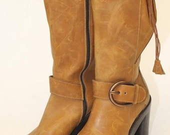 Womens Boots, Donald Pliner Designer Boots, Leather Boots, Italian Boots, 6M Boots, New Boots, Retail 359.00