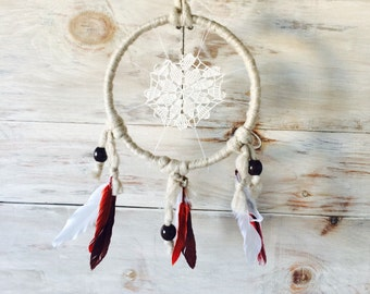 Native Dream Catcher with Feathers
