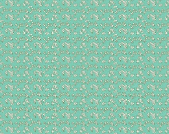 Riley Blake Designs - Milk Petals Mint - C4346-MINT