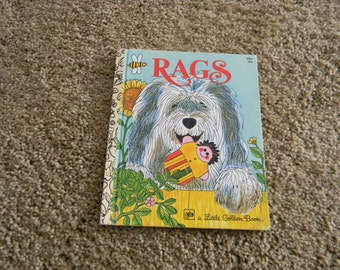 1976 Rags Hardcopy ; A little golden book #586 Patricia Scarry; JPA Miller