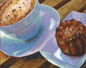 Cafe with Canele