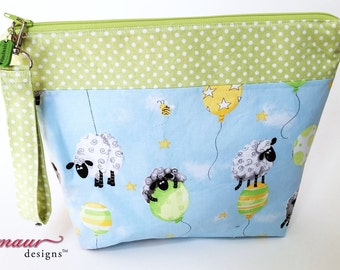 Little Lambs playing on balloons Project Bags