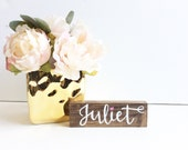 Personalized Name Sign, Name Wood Sign, Hand Painted Wood Sign, Nursery Decor, Baby Shower Gift, New Baby Gift, Kid's Room Decor