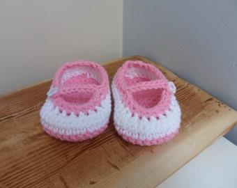 Baby Crochet Shoes/Booties