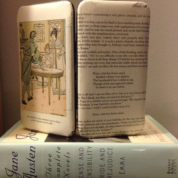 Jane Austen Emma Book Wallet Clutch