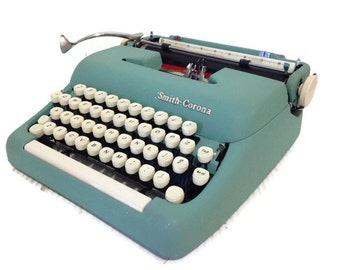Vintage Smith Corona Sterling Typewriter - 1959