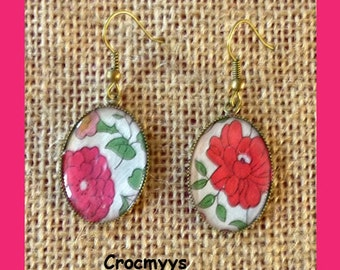 Liberty earring anjo red