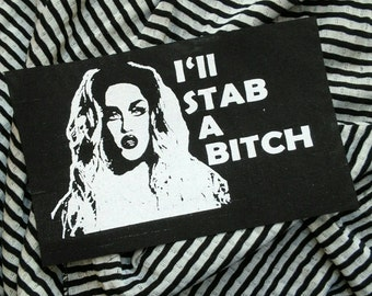 Adore Delano - RPDR patch queer patch drag queen patch queer fashion Rupauls Drag race patch riot grrrl 90s girl grunge patch, party, libra