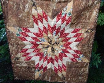 Handmade Lonestar Quilt Quilt