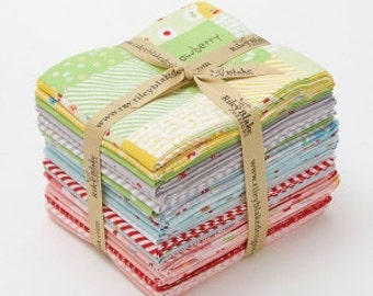 Sweet Orchard Fat Quarters Bundle includes 21 fat Quarters by Sedef Imer of Down Grapevine Lane forRiley Blake Designs
