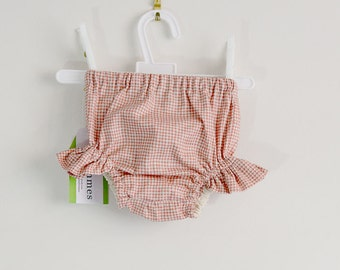 Nappy diaper cover leg puff rills