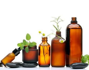 Natural Oil Hair & Body Treatment - Facial Serum Pure Essential Oils 4oz LARGE Size